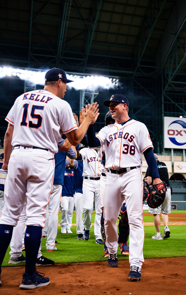 Houston Astros Case Study Celebration Photo