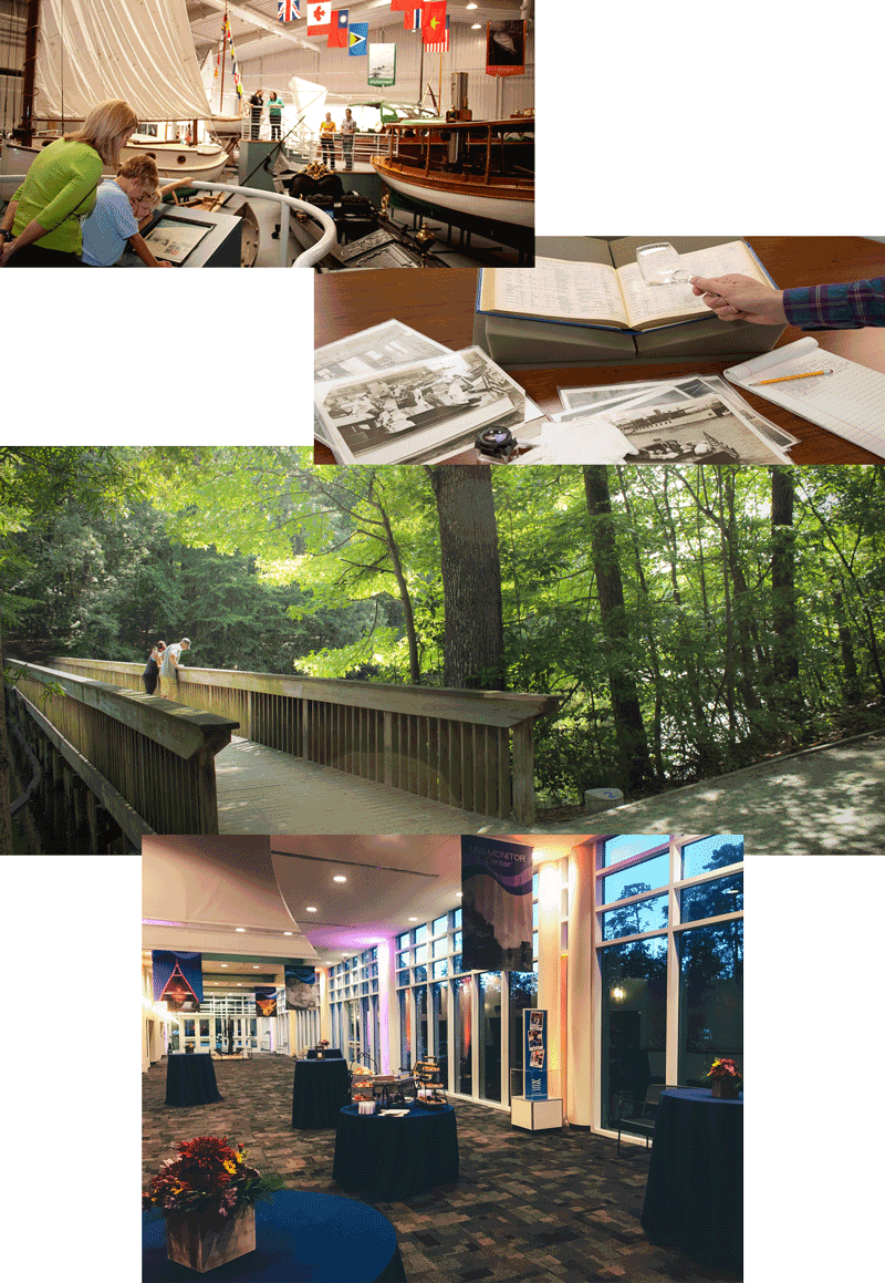 Mariners' Museum Case Study Collage