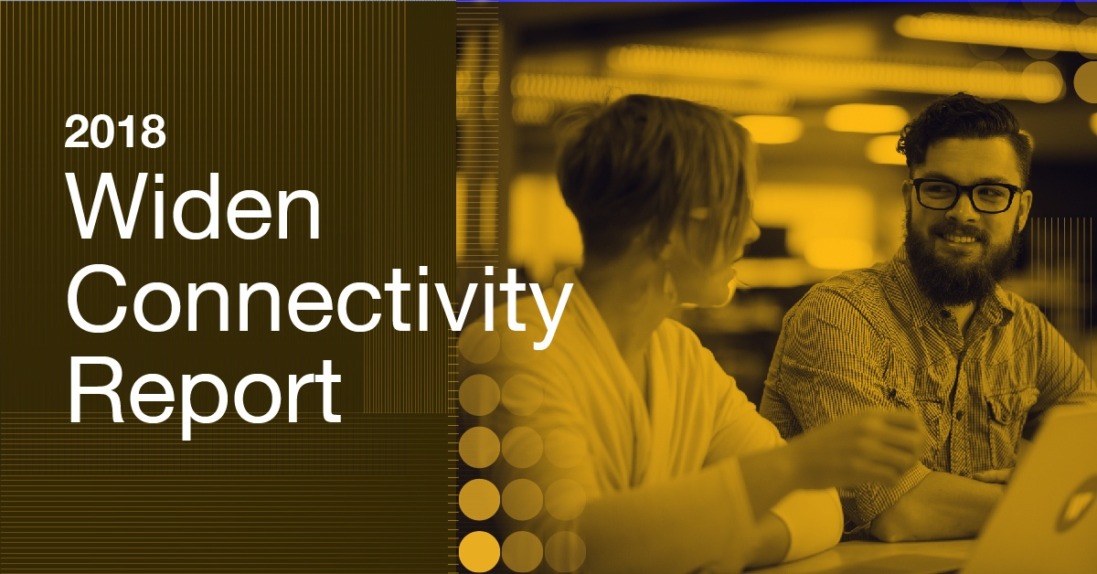 2018 Widen Connectivity Report Banner