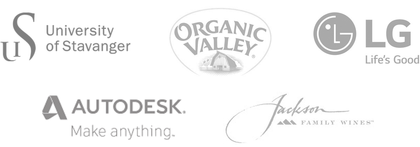 DAM Customers include: University of Stavanger, Organic Valley, LG, Autodesk, and Jackson Family Wines