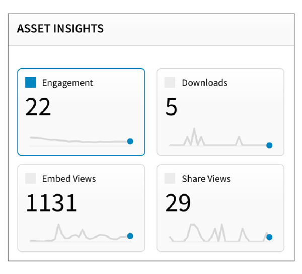Marketing Asset Management Visual Analytics