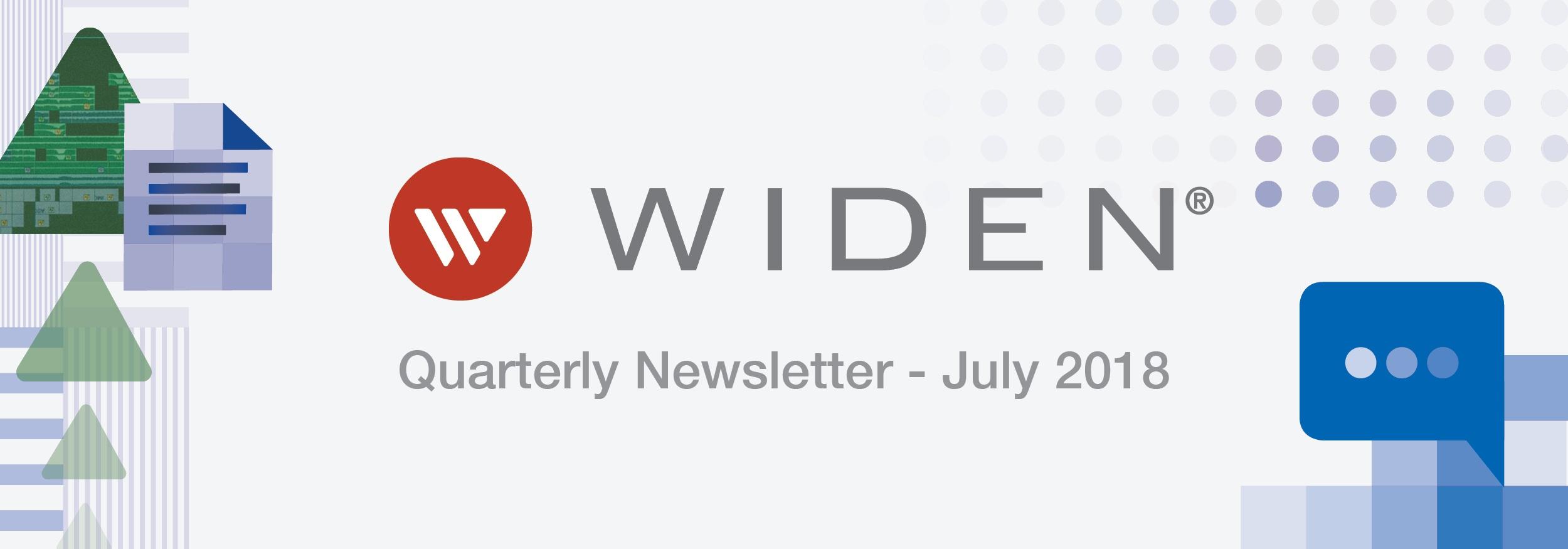quarterly newsletter email banner