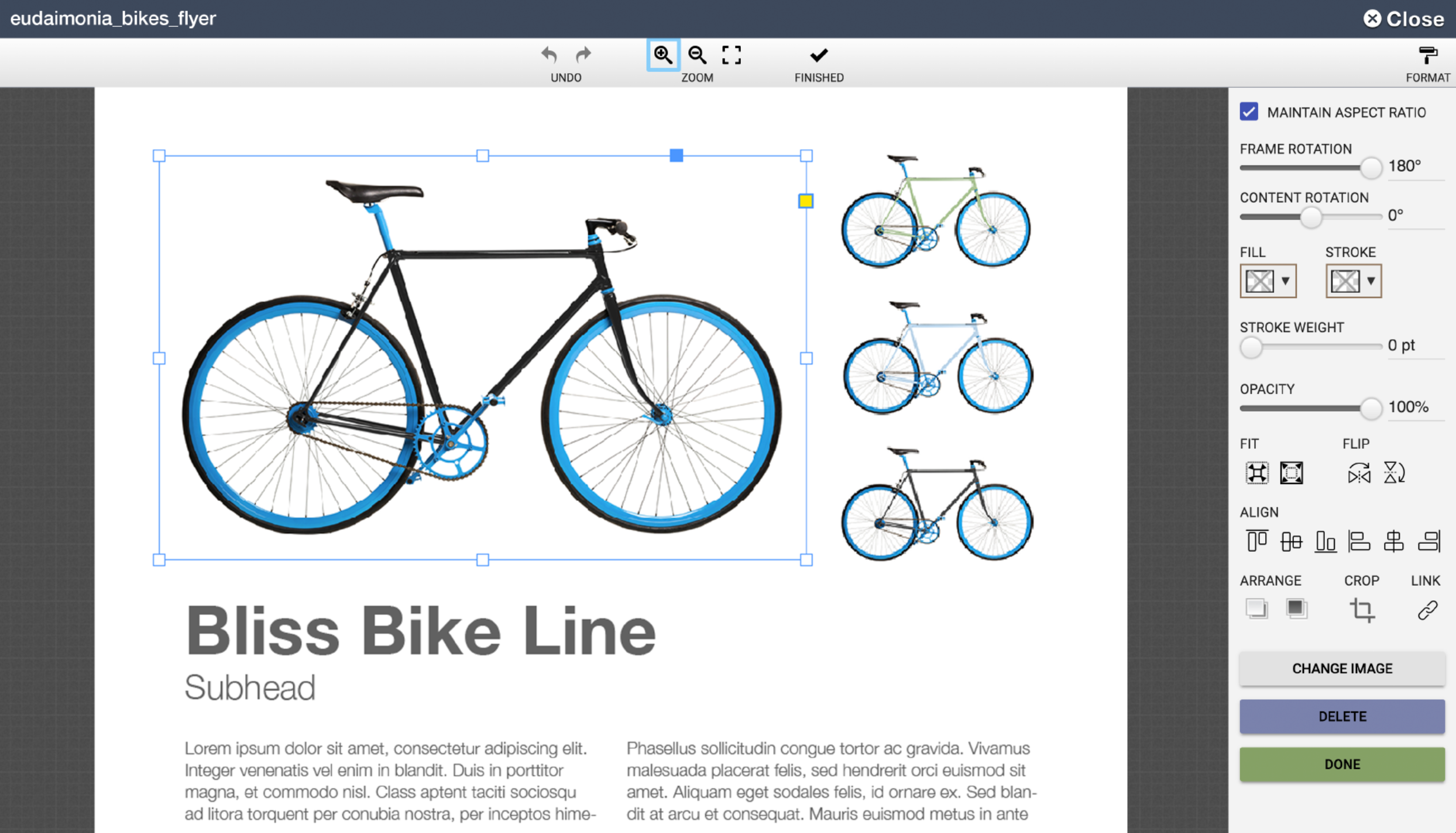 A closer look at the Templates tool.