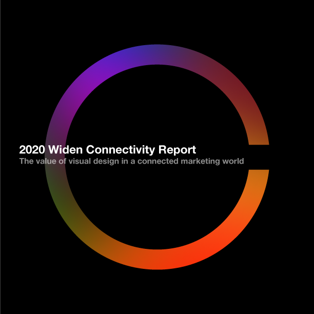 2020 Widen Connectivity Report: The value of visual design in a connected marketing world