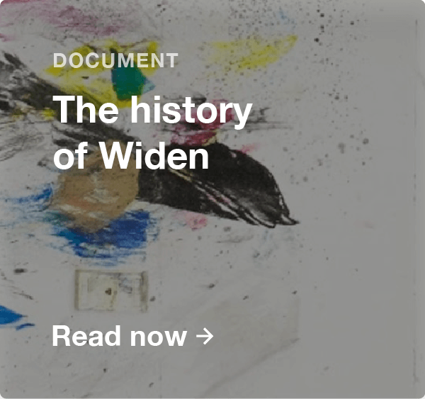 History of Widen Document preview