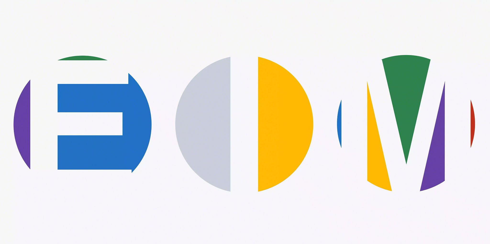 Article header image: The colorful circles evenly spaced on a white background and taking up the width of the graphic with the letter E-I-M in each circle.