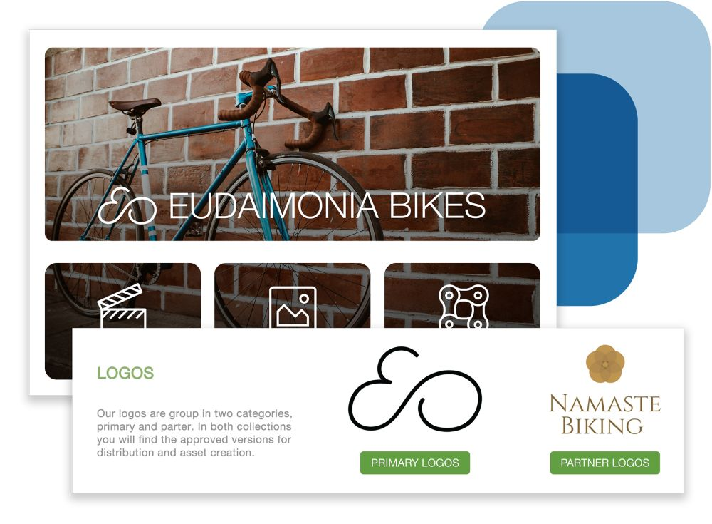 Enterprise Digital Asset Management Site Branding