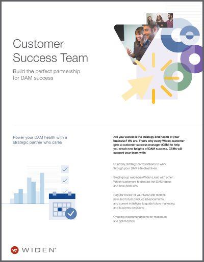 Digital Asset Management Customer Experience Team