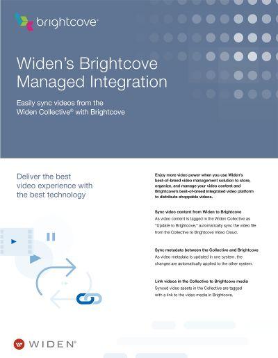 Digital Asset Management Brightcove Integration