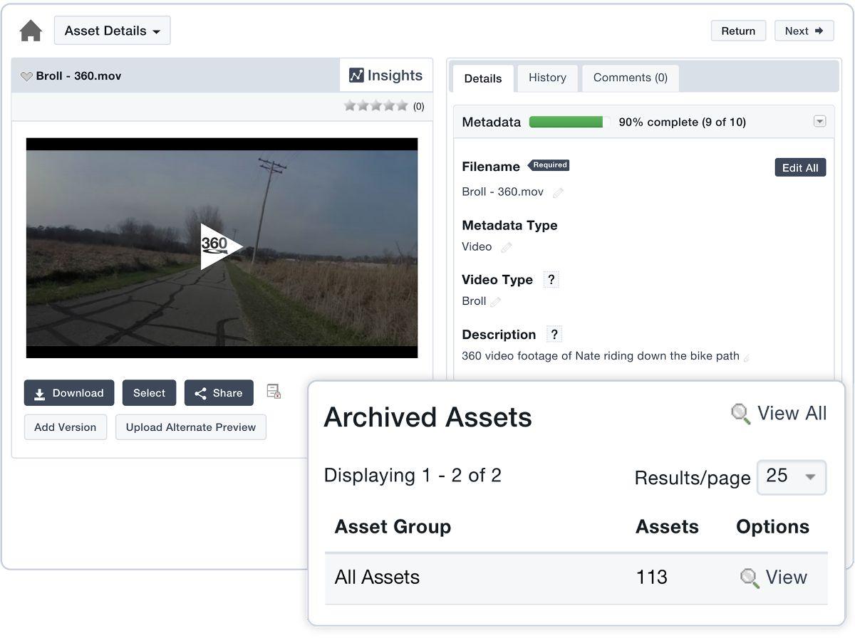 Video-Asset-Management